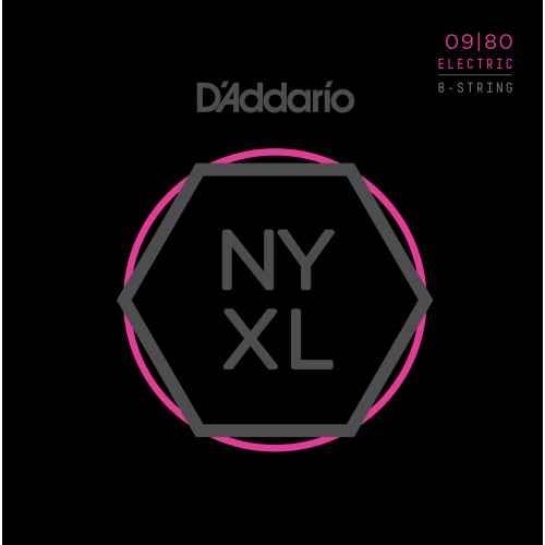 D´addario NYXL0980 Electric 8 cuerdas [09 80]